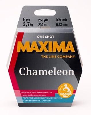 Maxima Fishing Line One Shot Spool, Chameleon