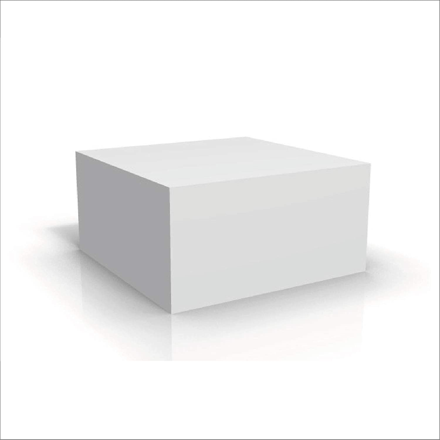 12pcs 8x8x4 Inches White Bakery Boxes with Cake Box for Pastries, Cookies, Pie, Cupcakes,Pizza, Lunch, Picnic (8x8x4)