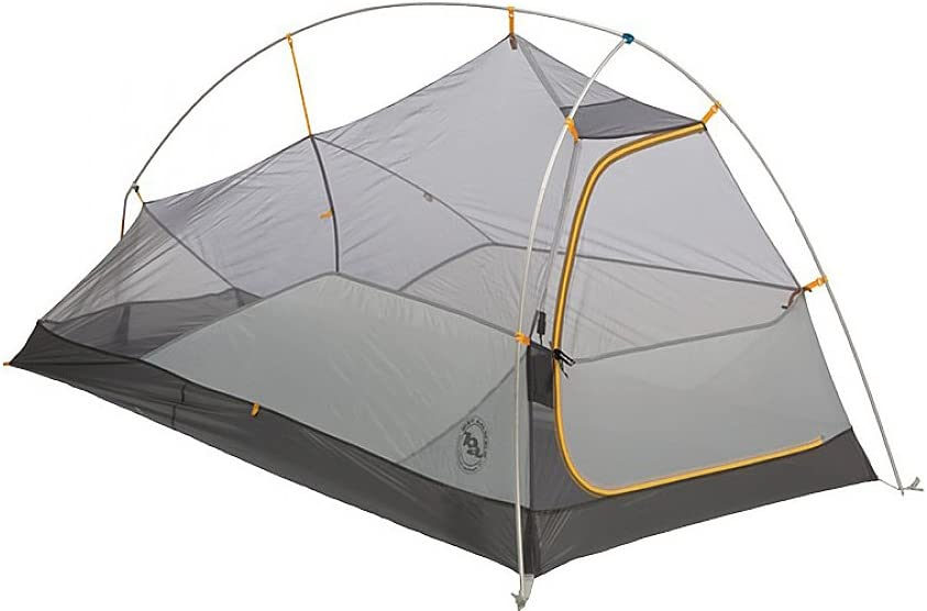Big Agnes Fly Creek HV UL Tent mtnGLO – 1 Person Gray