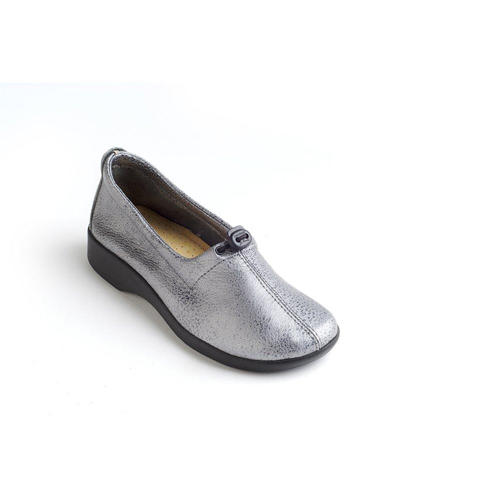 Arcopedico Womens QUEEN II Slip-on (7851) Pewter Size 40 EU (9.5 M US Women)