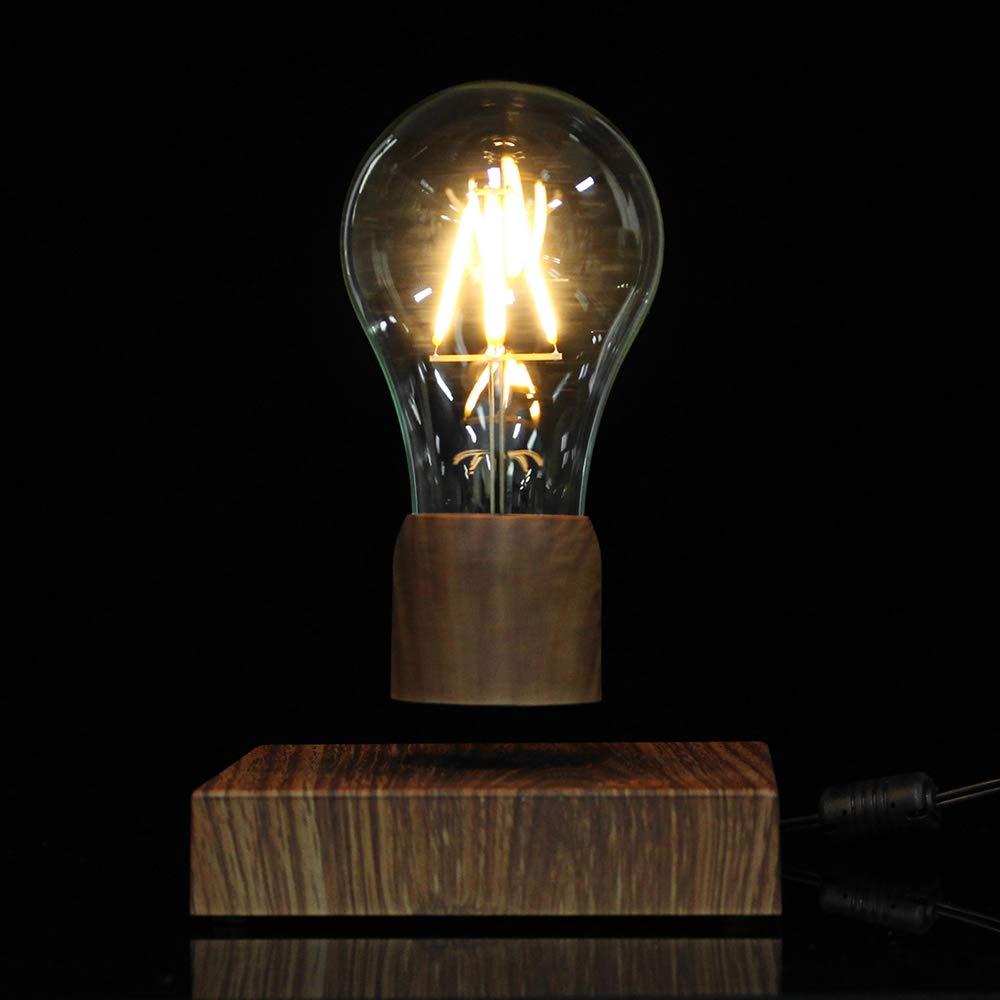 Disumos Magnetic Levitating Lamp Magnetic Levitating Floating LED Bulb Night Light Gift Home Desk Lamp Decor AC110-240V - UK Plug by Disumos (Image #6)