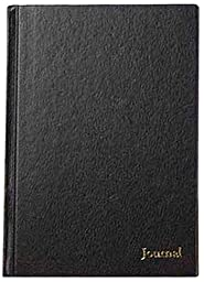TOPS Business Journal,  11 x 8-1/2, black cover (J25811)