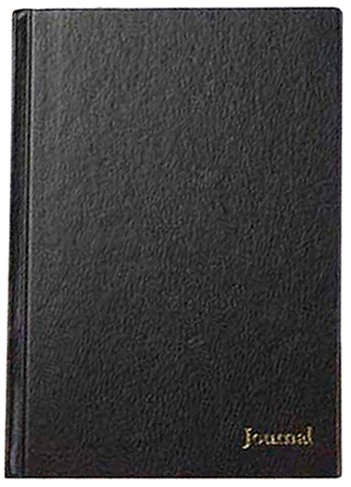 TOPS Business Journal,  11 x 8-1/2, black cover ()