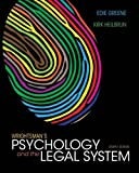 Image of Wrightsman's Psychology and the Legal System