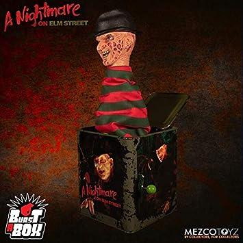 Mezco Toyz Caja Sorpresa De Música Burst A Box Freddy Krueger 36 Cm Pesadilla En Elm Street Amazon Es Juguetes Y Juegos