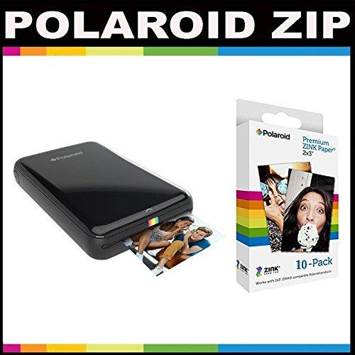 Polaroid ZIP Mobile Printer ZINK Zero Ink Printing Technolog