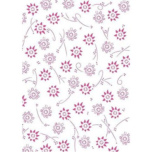 - Pergamano Vellum Paper Metallic Flowers (25)