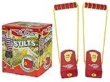 My First Flybar Stilts - Stomp & Squeak Foam Stilts For Kids 3 & Up (Red)