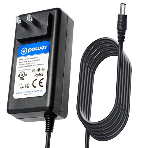 T POWER AC Adapter Charger Compatible with BISSELL BOLT ION XRT 2-in-1 Lightweight Cordless Vacuum 25.2v 1311 Model: 15702 1570, 15708, 1570Q PN: SSA-340100US 1604260 Power Supply