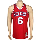 Mitchell And Ness Julius Erving Philadelphia 76ers 1982 Authentic Jersey (red)