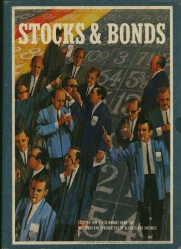 Stocks   Bonds   The Game Of Investments   3M Brand Stock Market Bookshelf Game   3M Bookshelf Games  C B170r