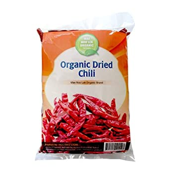5f179b39ddbf Image Unavailable. Image not available for. Color  Organic Dried Thai Red  Hot Chili ...