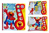 img - for Little Music Note 6 Button Elmo Potty Time Songs book / textbook / text book