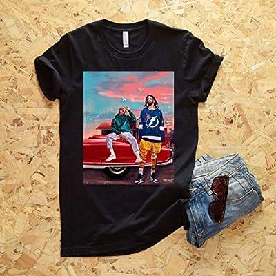 J Cole & Kendrick Lamar T-Shirt - Cole x Kung Foo Kenny Shirt - Dreamville Shirt - TDE Shirt