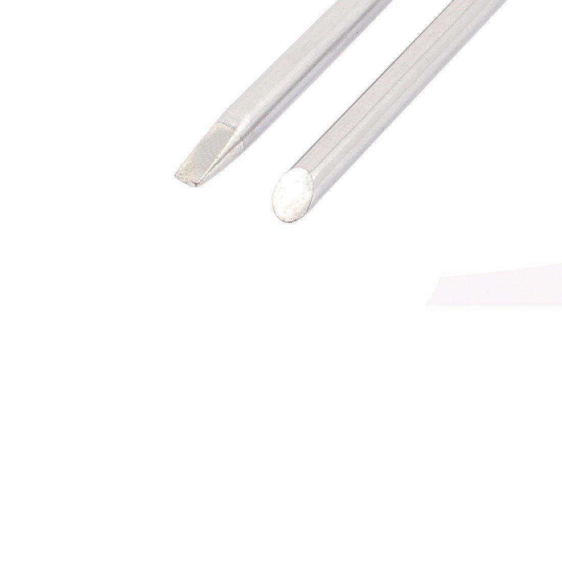 10 piezas de 40W Bevel w Cincel de soldadura Destornillador punta de hierro de 65 x 4.7mm - - Amazon.com