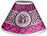 RNK Shops Triple Animal Print Coolie Lamp Shade (Personalized)