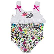 Splash About Designer Ruffle Swimsuit (6-12 Months, L'histoire De Birdy)