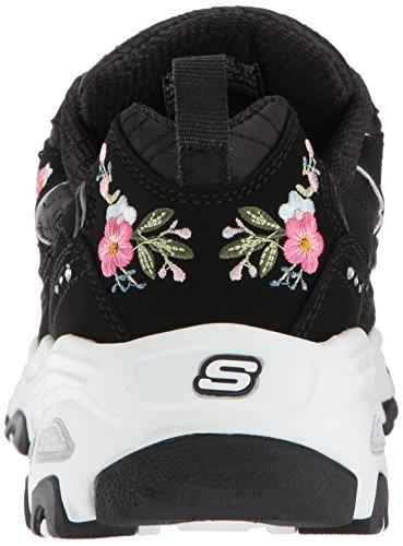Skechers Noir BLK Mujer Cuero Skechers 11977 UPwxv