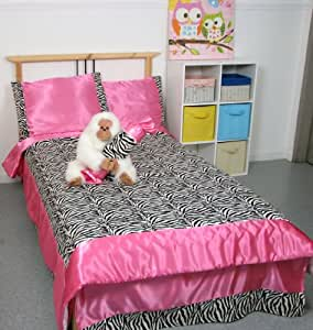 Girls Kids Bedding-MISTY ZEBRA Tween Teen Dream Bed In A Bag. (Double) FULL SIZE Comforter set, Sheet Set and Plush Toy Included-Love, Hearts-Hot Pink, Turquoise Blue, Purple, Black and White. by Grand Linen. $ $ 69 00 Prime. FREE Shipping on eligible orders. out of 5 stars