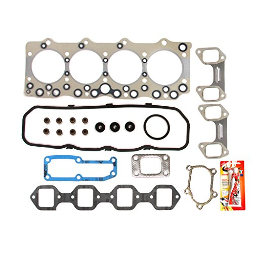 Isuzu Diesel Engines - Fits 92-94 Isuzu NPR 3.9 Turbo Diesel 350 Engine 4BD2-T Head Gasket Set