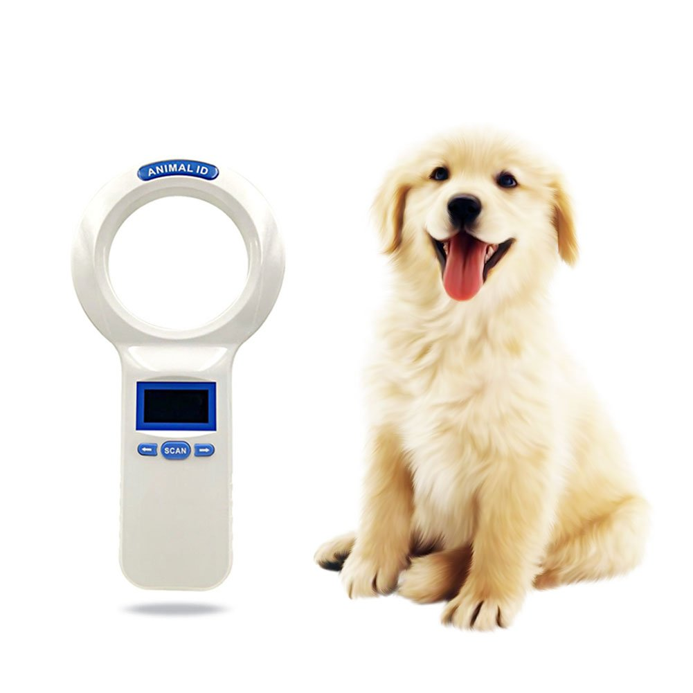 Ocamo Pet Identification Handheld Card Reader Barcode Idfdx-b Glass Tube Label Chip Scanner