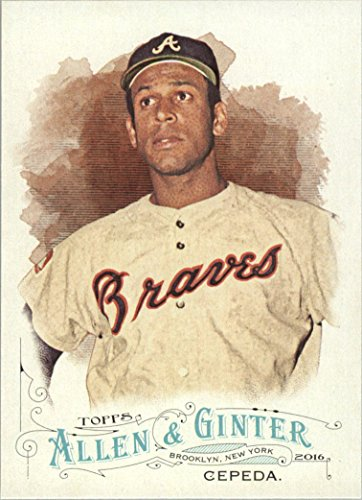 2016 Topps Allen and Ginter Baseball #284 Orlando Cepeda Atlanta Braves