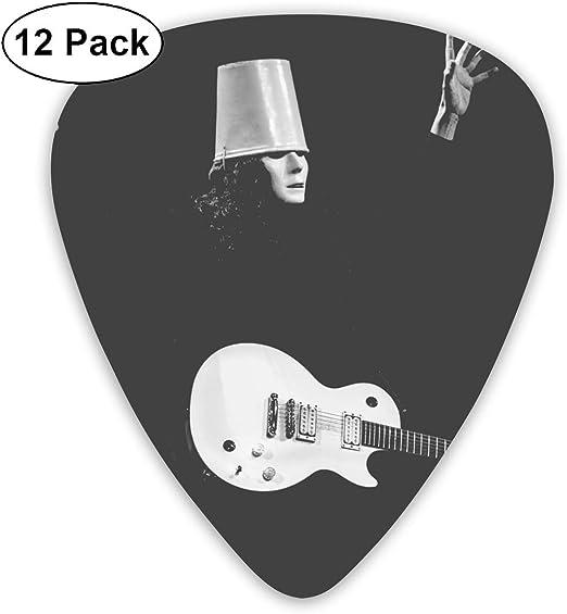Medium /& Heavy Gauges GailFranklinandCat ACDC Guitar Picks 12 Pack Premium Picks Sampler Includes Thin