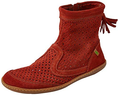 Naturalist N262 Chelsea Boots Damen Rot (ketel)