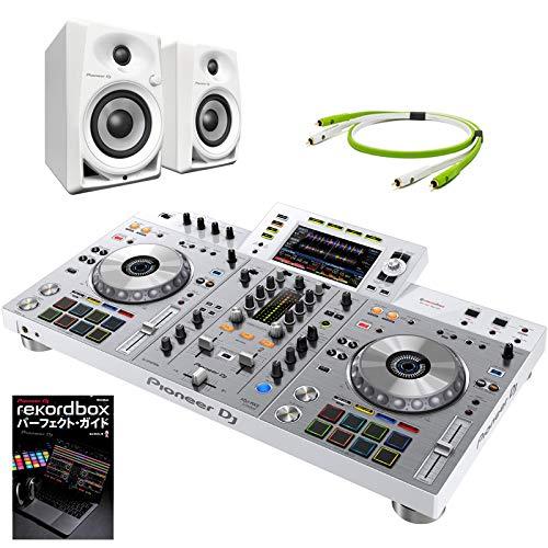 大好き Pioneer Pioneer XDJ-RX2-W DJ XDJ-RX2-W + + DM40WスピーカーSET B07JYJZBLS, アンバージャック:003772fb --- pardeshibandhu.com