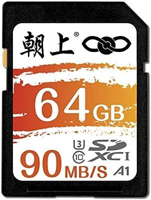Amazon.com: ANUST Tarjeta SD 64G Alta Velocidad para Cámara ...