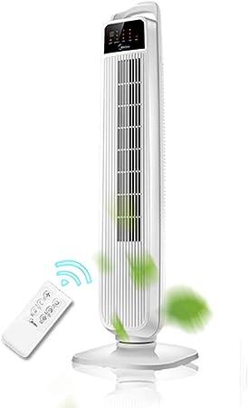 Ventiladores de torre Climatización y calefacción Ventilador eléctrico doméstico pie Ventilador sin aspas Ventilador de Piso silencioso Ventilador de Aire ...