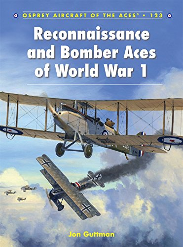 Reconnaissance and Bomber Aces of World War 1 (Aircraft of the Aces) (Osprey Civil Aircraft)