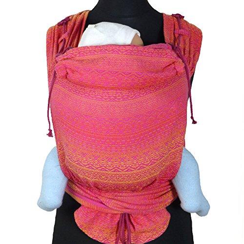 DIDYMOS Meh-Dai/Mei Tai (DidyTai) Baby Carrier Ada Tourmaline (Organic Cotton), One Size ()