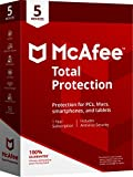 Software : McAfee 2018 Total Protection - 5 Devices