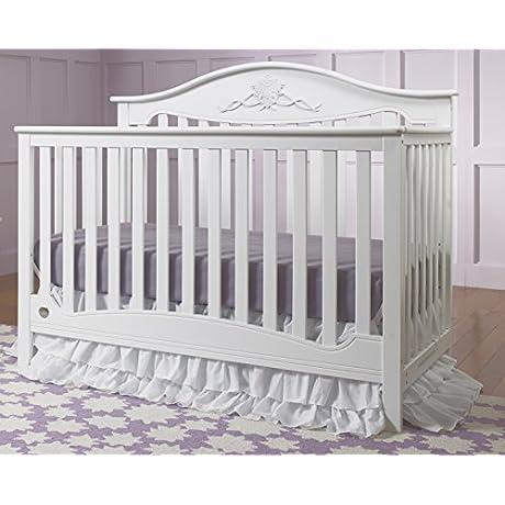 Fisher Price Mia 4 In 1 Convertible Crib Snow White
