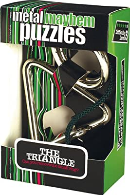 Metal Mayhem Puzzle - The Triangle (Difficulty Level 5)