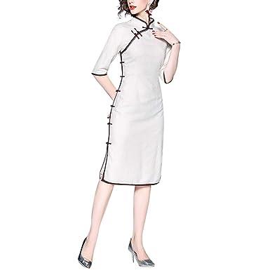 Interact China Traje Chino Cheongsam Qipao Vestidos ...