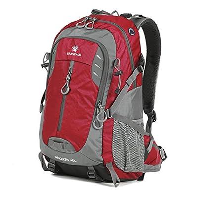 Vanwalk 40L / 70L Hiking Backpack Water-Resistant Lightweight Packable Durable Travel Daypack for Unisex