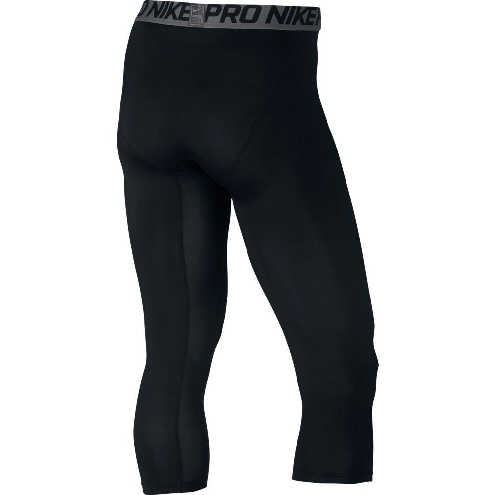 NIKE HYPERCOOL MAX 3/4 TIGHT, Black/Dark Grey/White, Small by Nike (Image #4)