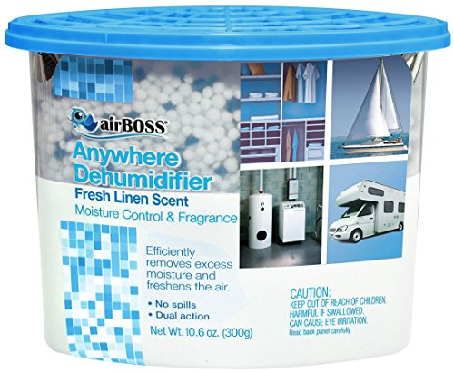 airBOSS Anywhere Dehumidifier Fresh Linen Scented