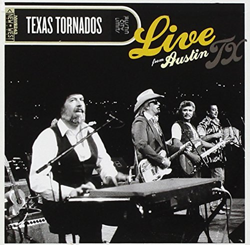 CD : Texas Tornados - Live From Austin Tx (Jewel Case Packaging, 2PC)