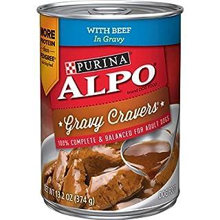 Purina ALPO Gravy Wet Dog Food, Gravy Cravers With Beef - (12) 13.2 oz. Cans
