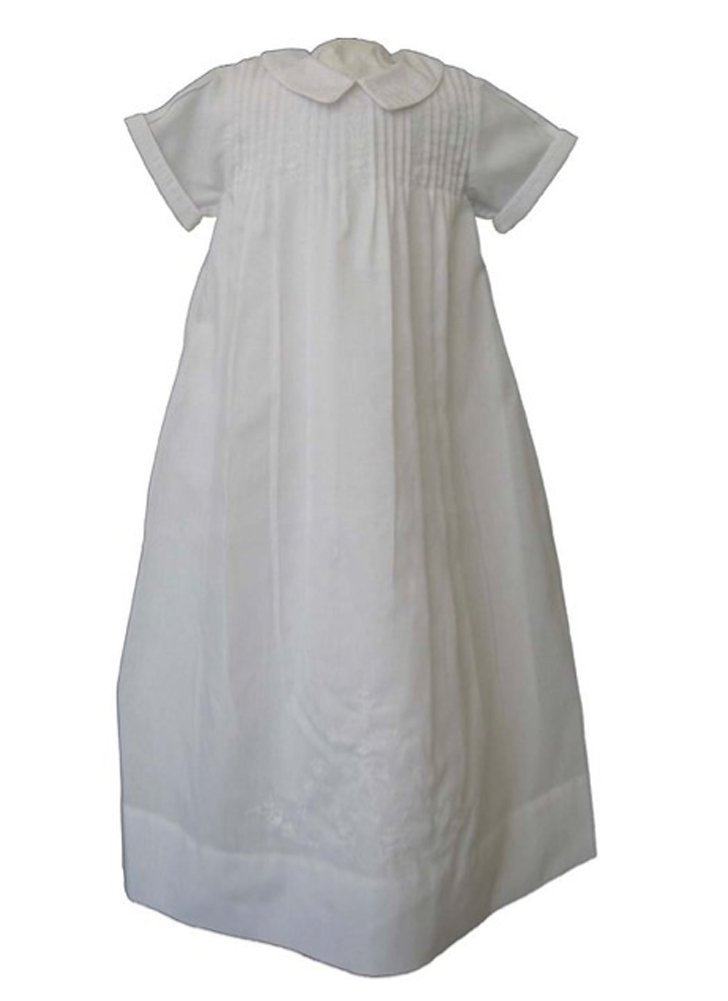 Feltman Brothers Boys White Christening Gown (6-9 months)