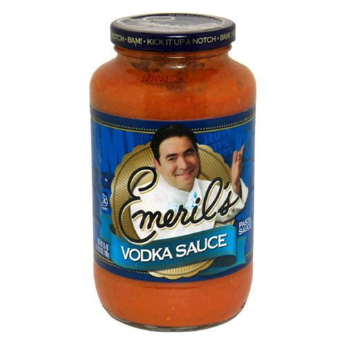 Emerils Pasta Sauce (Emeril's Pasta Sauce, Vodka, 25-Ounce Jars (Pack of 6))