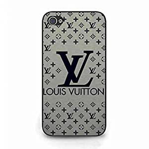 IPhone 4/IPhone 4S Mobile Phone Accessories,Louis With Vuitton Logo Cover Back Funda,LV Logo Phone Funda Cover