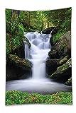 Beshowereb Fleece Throw Blanket Natural Waterfall Decor Dream - Best Reviews Guide