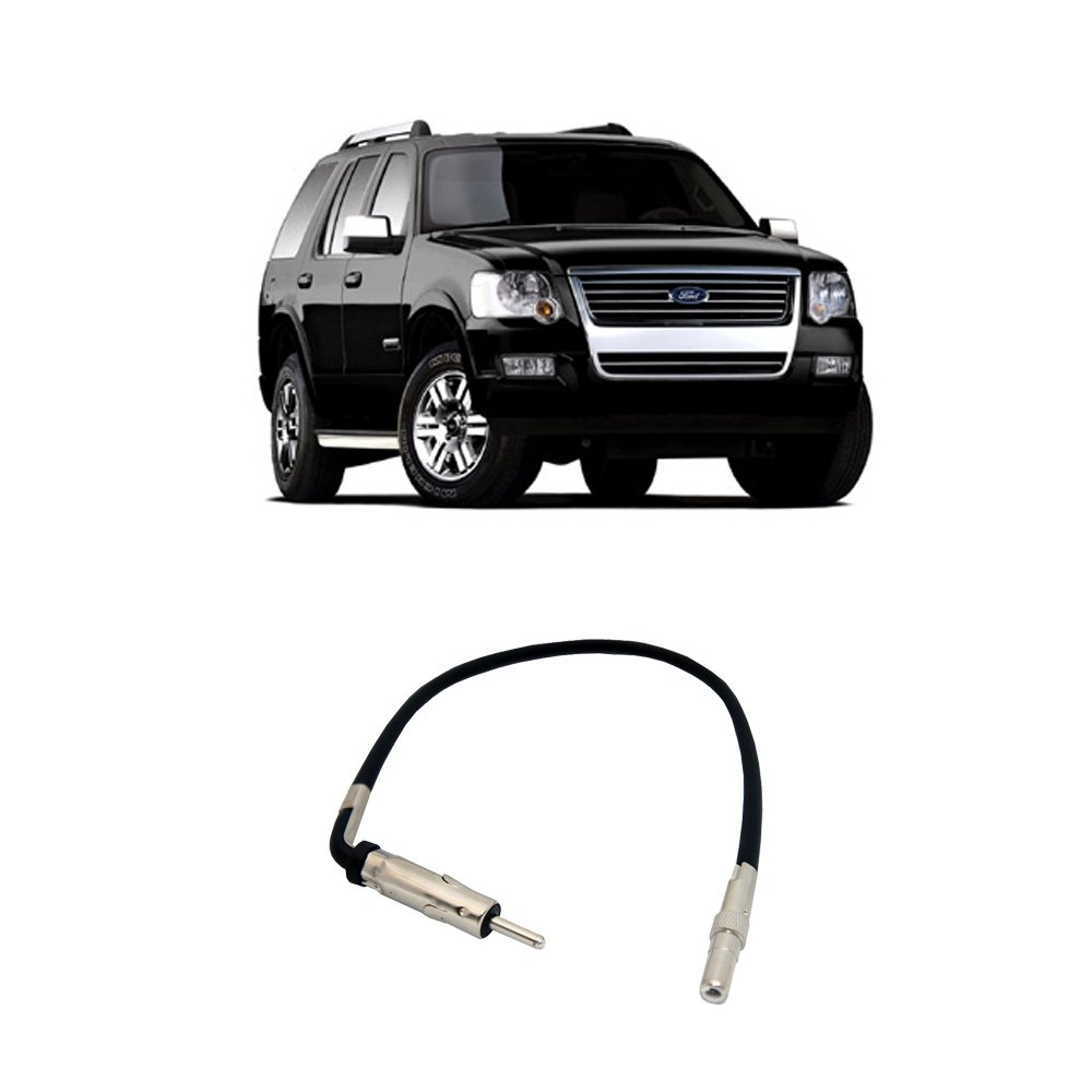 Amazon.com: Fits Ford Explorer 2006-2010 Factory Stereo to Aftermarket Radio  Antenna Adapter Plug: Car Electronics
