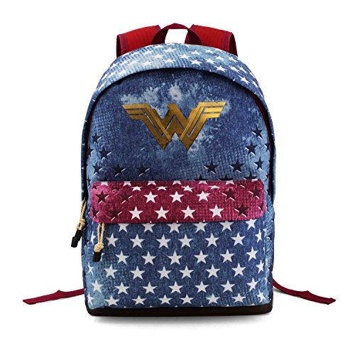 Wonder Woman Radiant Rucksack, 43 cm, 27 liters, Blau (Azul)