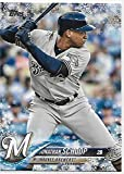 2018 Topps Holiday #HMW44 Jonathan Schoop NM-MT Brewers