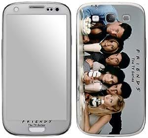 Zing Revolution Friends Premium Vinyl Adhesive Skin for Samsung Galaxy S III, Sundae (MS-FRND110415)